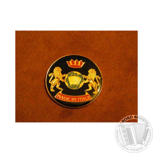Emblemat na galeryjkę - ozdoba do akordeonu
