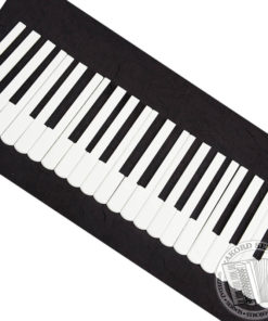 Komplet nakładek na klawiaturę do akordeonu