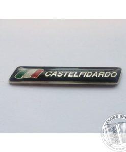 Napis Castelfidardo - Ozdobny napis na akordeon