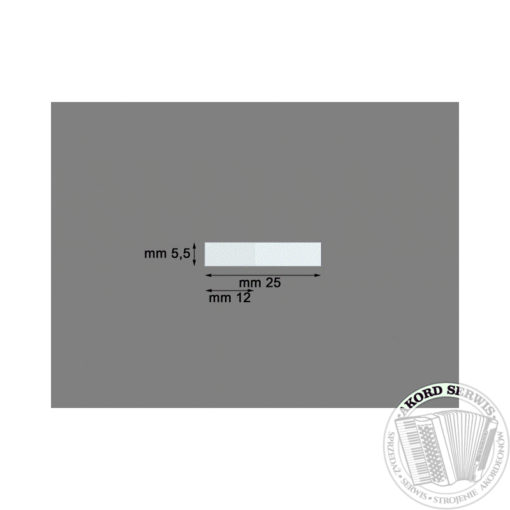 Plastikowy zaworek 25mm