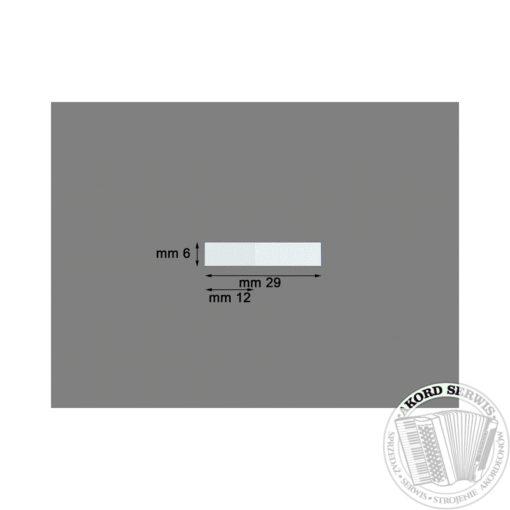 Plastikowy zaworek 29mm