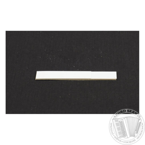 Zaworek skórzany 43,5mm z plastikową podpórką