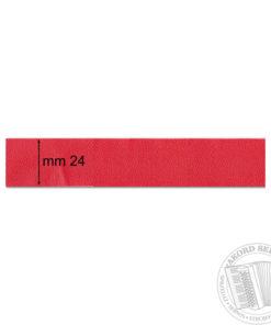 Okleina miecha Czerwona jasna gładka