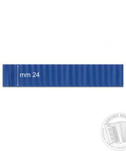 Okleina miecha Niebieska prążkowana - Okleina do akordeonu