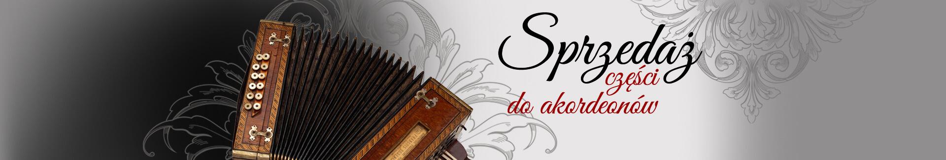 Części do akordeonów - Sprzedaż - slider